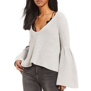 Free People | Damsel Bell Sleeve Pullover Sweater